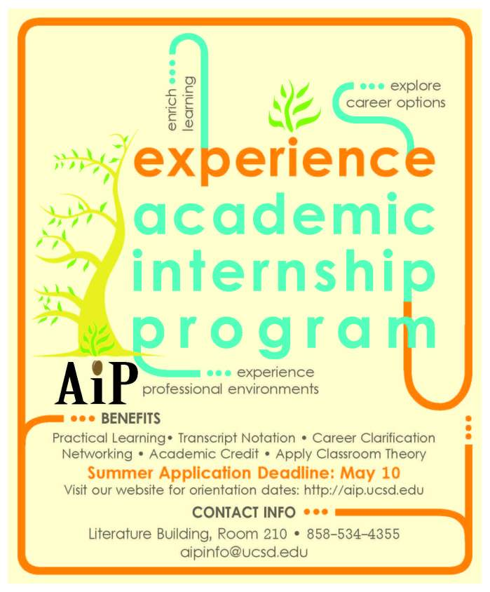 Academic Internship Program (AIP) - Summer 2013