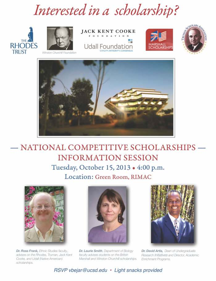Competitive Scholars Info Mtg Oct 2013