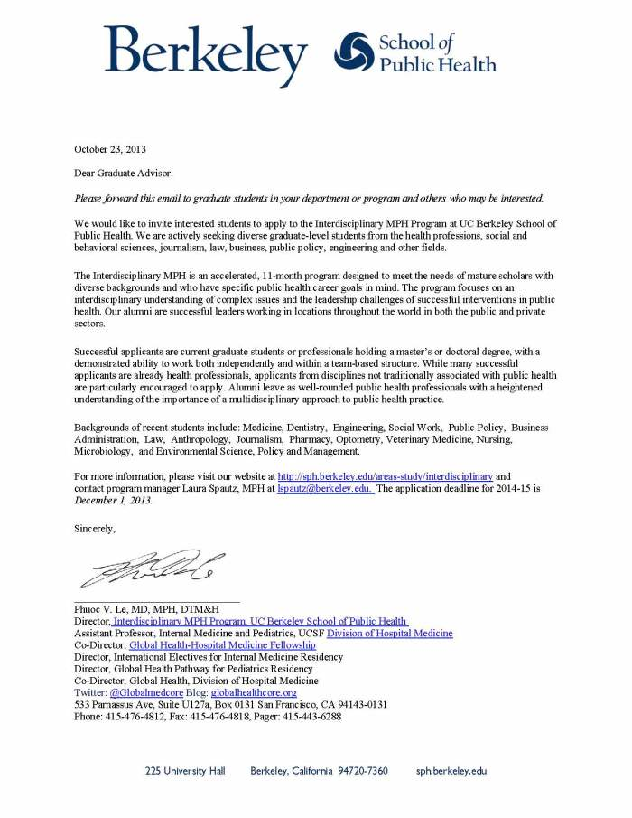 uc berkeley acceptance letter interdisciplinary mph program uc berkeley school of 828