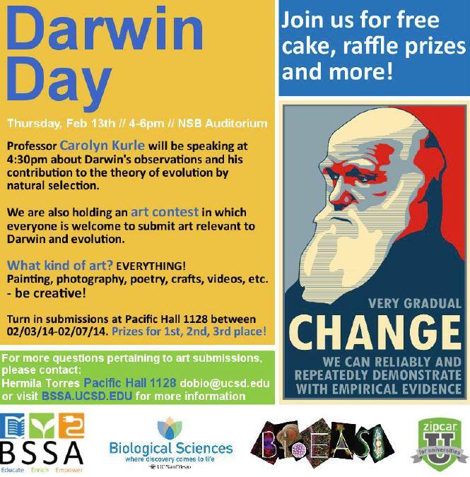 Darwin Day FlyerPhoto