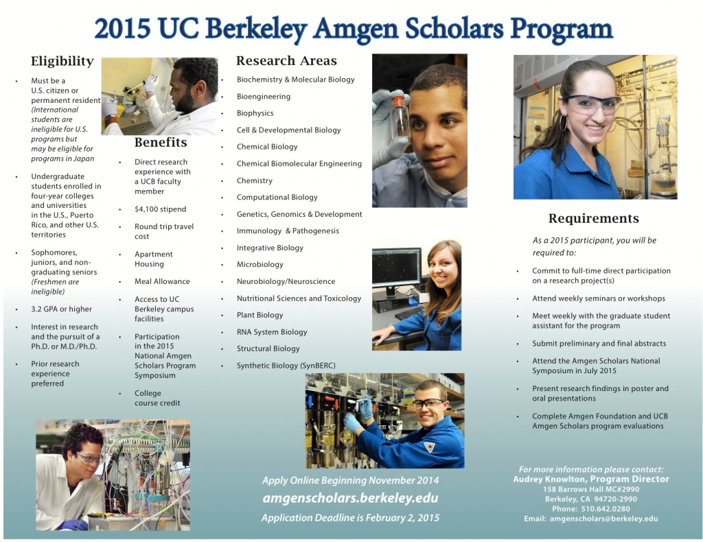 2015 UC Berkeley ASP Brochure