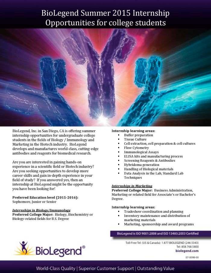 University Ad - Internship 2015 -ver 2