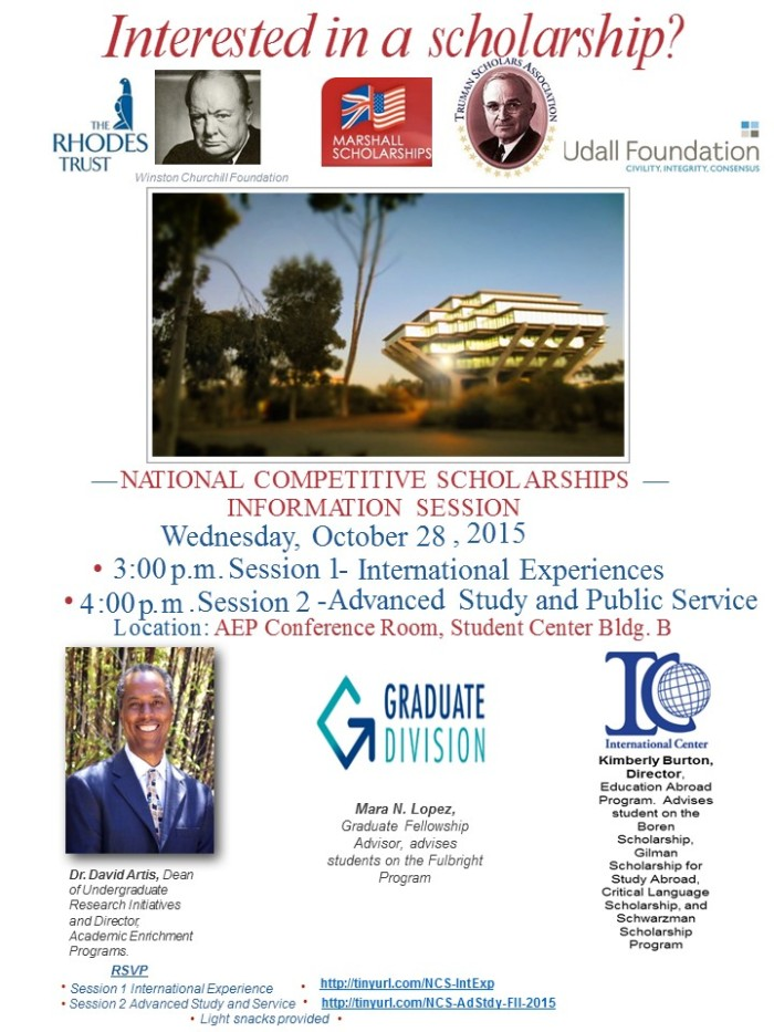 NCS - Information Flyer - Fall 2015