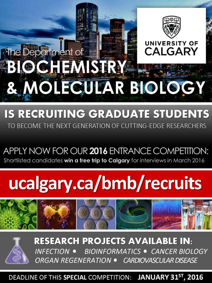 2016 University of Calgary BMB Program Recruitment Campaign-1
