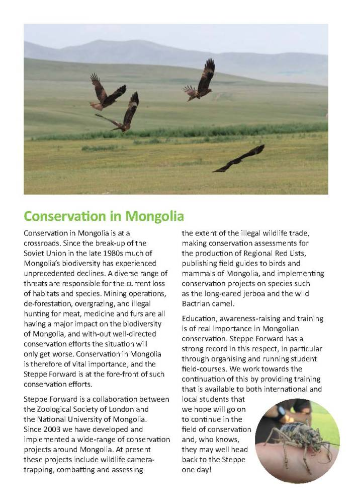 ZSL Mongolia Summer Field Course 2016 brochure_Page_2