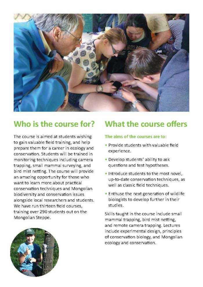 ZSL Mongolia Summer Field Course 2016 brochure_Page_3