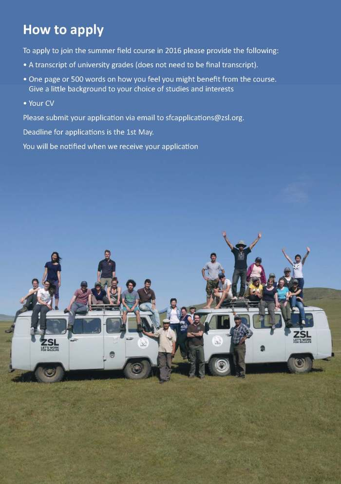 ZSL Mongolia Summer Field Course 2016 brochure_Page_5